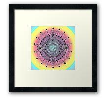 Colorful Mandala Framed Print