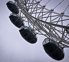 London Eye by Alexandra Vaughan Photography & Design
