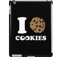 I Love Cookies  iPad Case/Skin