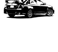 Subaru Impreza WRX STI 2011 by garts