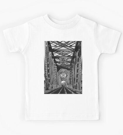 Richmond Texas Rail Road Bridge Kids Tee