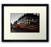 Westminster Lights Framed Print