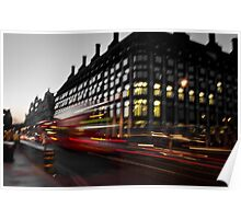 Westminster Lights Poster