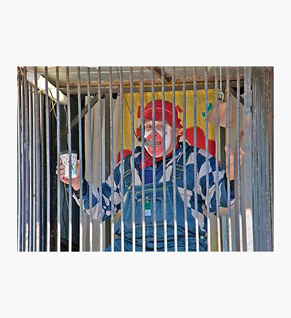 Dunk The Clown Photographic Print