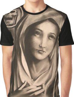 Virgin Mary Graphic T-Shirt