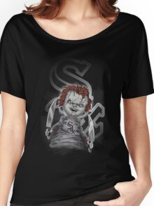 CHICAGO WHITE SOX Halloween T-shirt  Women's Relaxed Fit T-Shirt