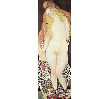 Gustav Klimt - Adam And Eve  Photographic Print