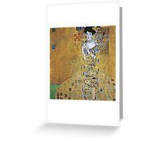 Gustav Klimt - Adele  Greeting Card