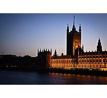 Parliament Photographic Print
