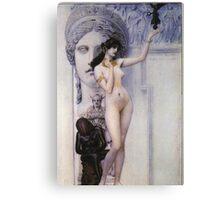 Gustav Klimt - Allegory Of Sculpture Canvas Print