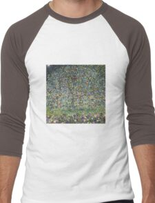 Gustav Klimt - Apple Tree I Men's Baseball ¾ T-Shirt