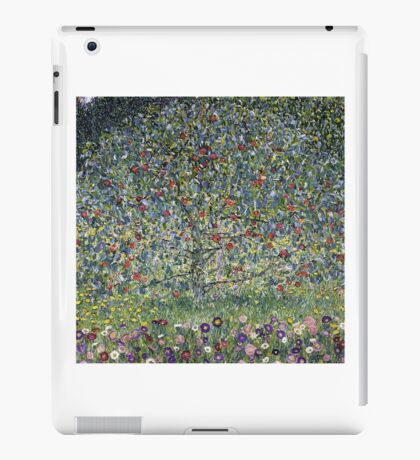 Gustav Klimt - Apple Tree I iPad Case/Skin