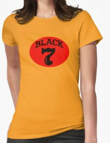 Black Seven Womens Fitted T-Shirt
