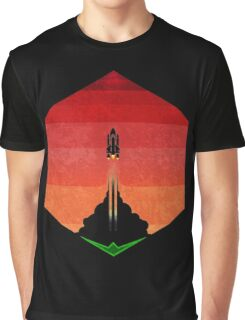 Into The Mars Exosphere 6  Graphic T-Shirt