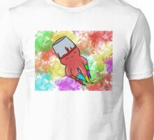 SQUID AND COLORS Unisex T-Shirt
