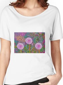 Dandelion Swirl - Abstract Women's Relaxed Fit T-Shirt