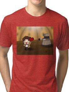 DALEK RUN Tri-blend T-Shirt