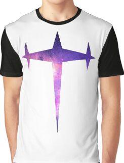 Kill la Kill Three-Star Galaxy Graphic T-Shirt