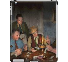 Poker - Poker face 1939 iPad Case/Skin