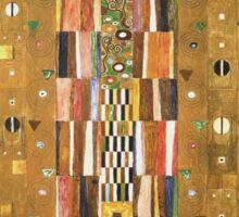 Gustav Klimt - Design For The Stocletfries Sticker