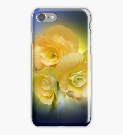 yellow flowers shining iPhone Case/Skin
