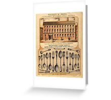 alker and Hall Ltd, Electro Works, Sheffield Greeting Card