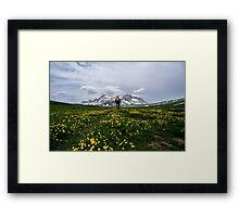 Near Mountain Oshten Framed Print