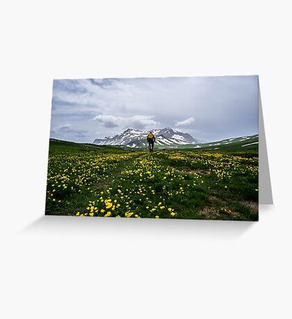 Near Mountain Oshten Greeting Card