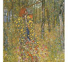 Gustav Klimt - Farm Garden With Crucifix 1912 Photographic Print