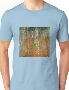 Gustav Klimt - Farmhouse With Birch Trees 1903 Unisex T-Shirt