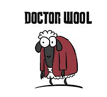 Doctor Wool Photographic Print