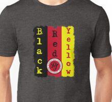 "PJ ""Lyric inspired"" T- Black, Red, Yellow Unisex T-Shirt"
