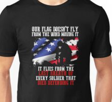 United States Army tribute T-shirt to dead Soldiers Unisex T-Shirt
