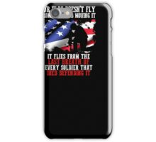 United States Army tribute T-shirt to dead Soldiers iPhone Case/Skin