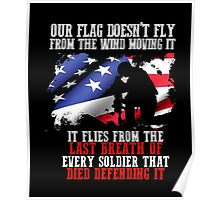 United States Army tribute T-shirt to dead Soldiers Poster