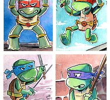 Turtle Power by tupa