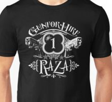 Raza Gun For Hire #1 Unisex T-Shirt