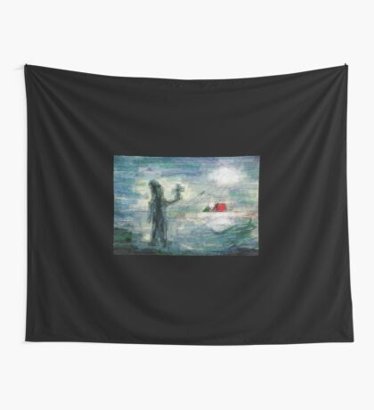Brother Natanael - the Street Evangelist Wall Tapestry