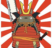 Samurai Totoro by lost-and-found