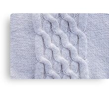 Knits and Braids Canvas Print