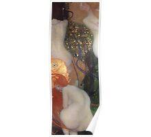 Gustav Klimt - Goldfish  Poster