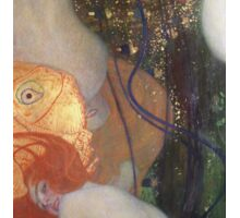 Gustav Klimt - Goldfish  Sticker