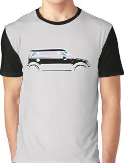 MINI, CAR, BLACK, BMW, BRITISH ICON, MOTORCAR Graphic T-Shirt