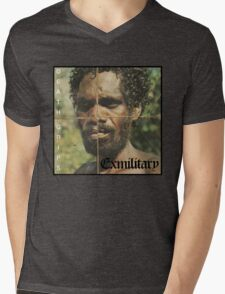Death Grips -Exmilitary Album Art Mens V-Neck T-Shirt