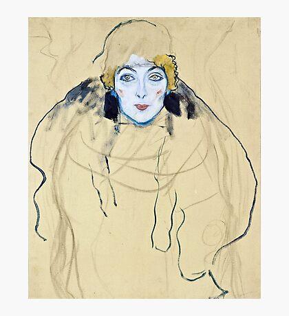 Gustav Klimt - Head Of A Woman  Photographic Print