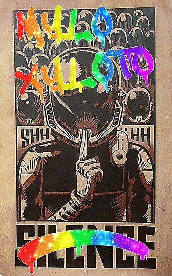 Coldplay - Graffiti Silence by JuliaJean1