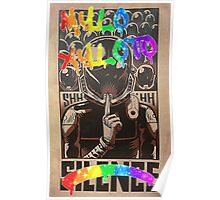 Coldplay - Graffiti Silence Poster