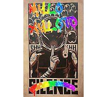 Coldplay - Graffiti Silence Photographic Print