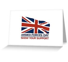 Armed Forces Day Greeting Card