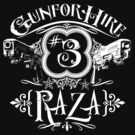 Raza Gun For Hire #3 by simonbreeze